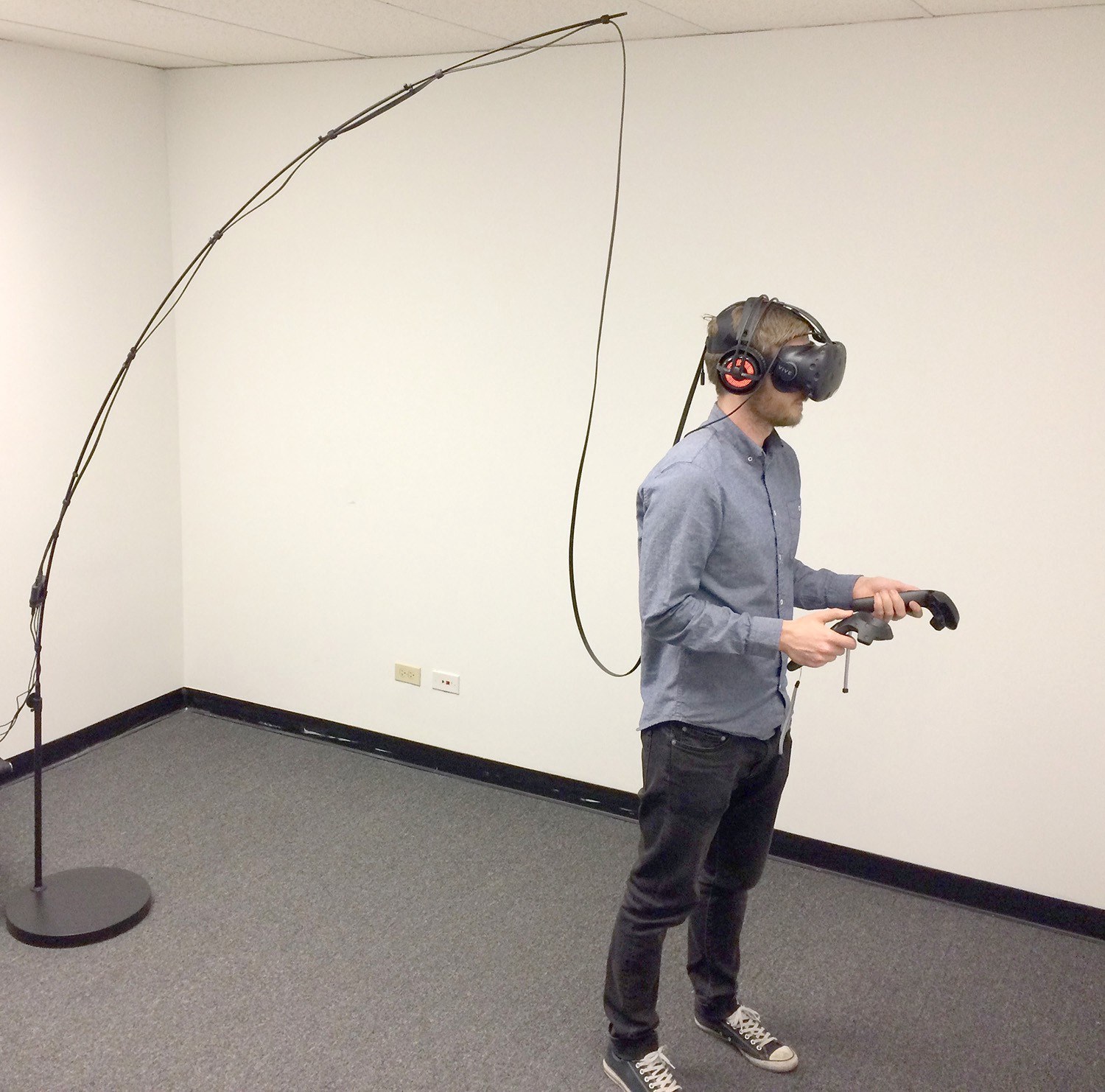 I love vr but hundreds of thousands of people think i hate it for Virtual reality fishing