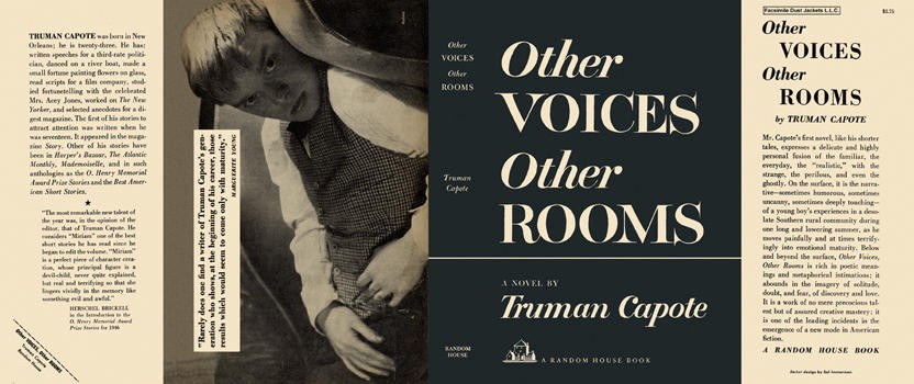 Dust cover of Other VOICES Other ROOMS by Truman Capote