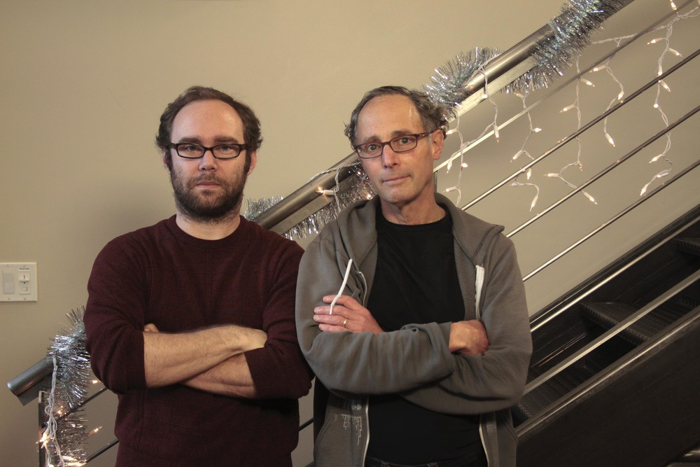 Creative Director, Andrew Juncker and actor, Jay Lawrence