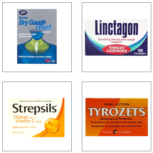 four medical packets