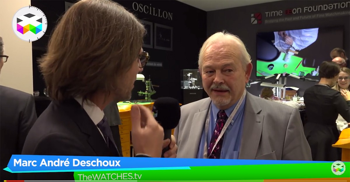 The Watches TV talks to Philippe Dufour about Time Aeon