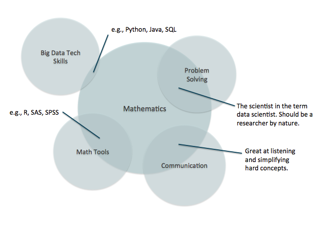 Relative priority of skills for a data scientist