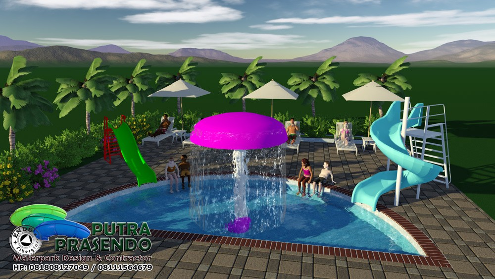 Jamur Air Waterpark Murah 1