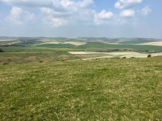 Walking from Woodingdean to Lewes.