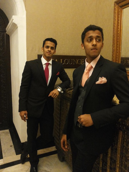 Owners Ronil and Rayan