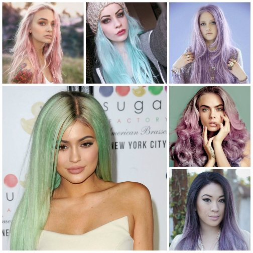 2017 Colored Hairstyles For Women – hair ideas – Medium