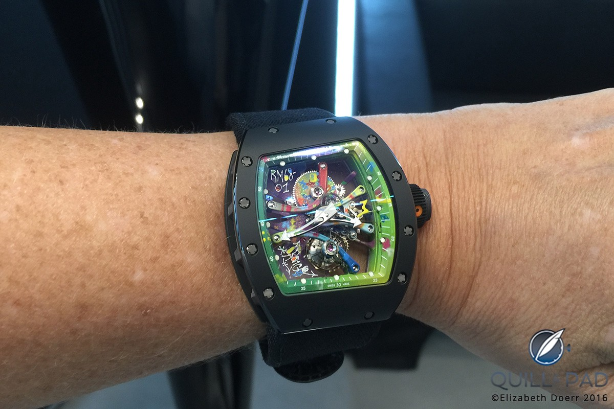 Richard Mille RM-68-01 Kongo on the wrist