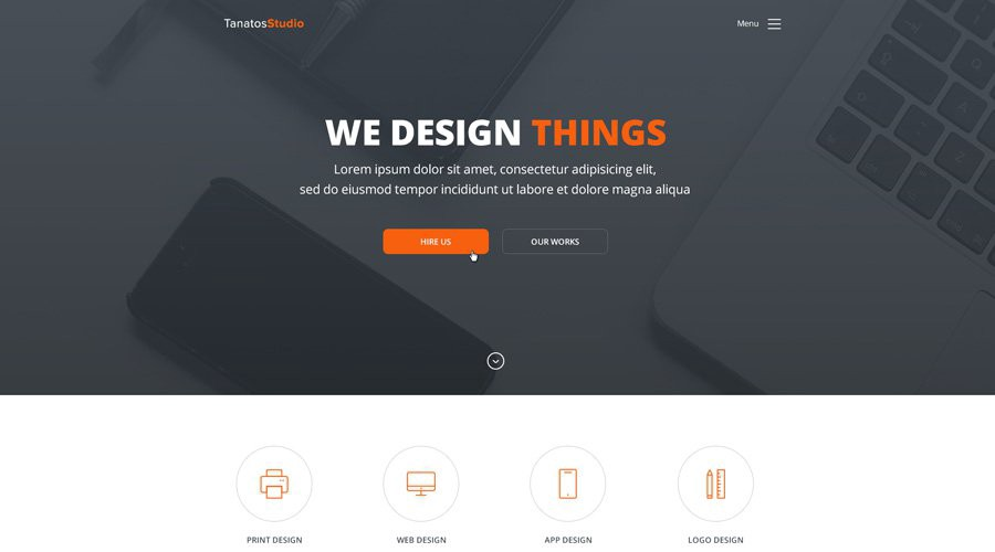 Free PSD HTML Web Templates Bradley Nice Medium - Template based web design