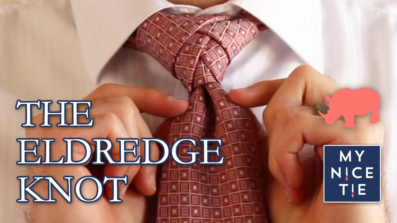 Video how to tie a tie the eldredge knot slowbeginner how to new knot the half windsor httpsyoutubewatchvhncvwyoure not a typical person so why wear a typical necktie knot ccuart Gallery
