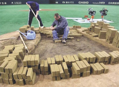 How To Build A Professional Pitchers Mound Murray Cook S