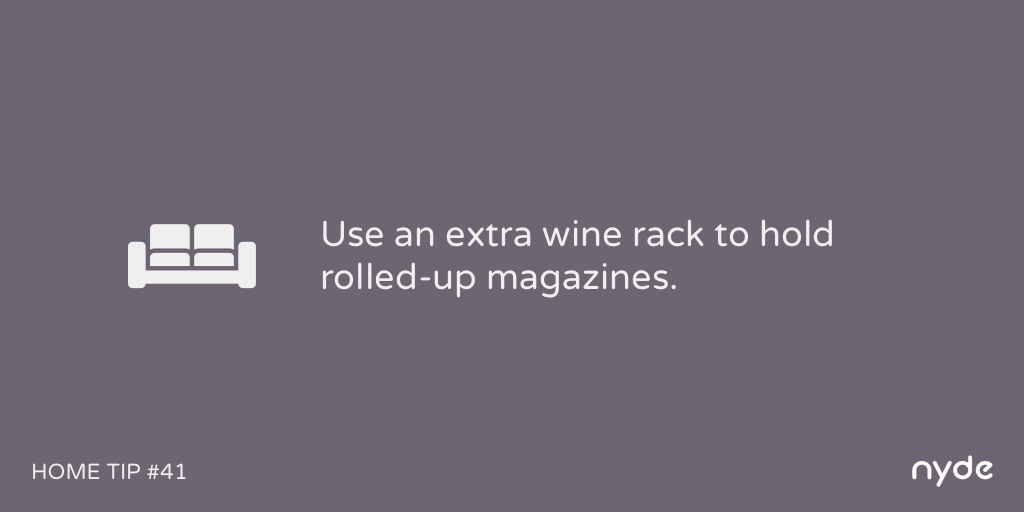 Home Tip #41