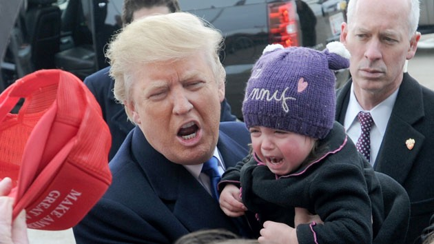 Image result for Donald Trump baby