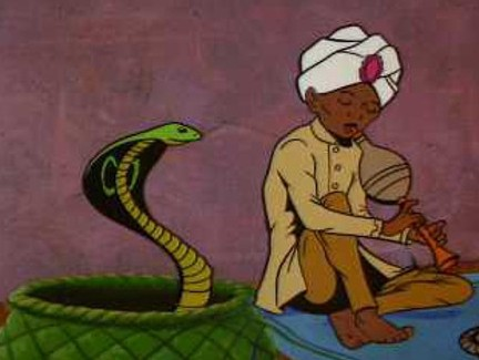 Image result for magic man dancing snakes
