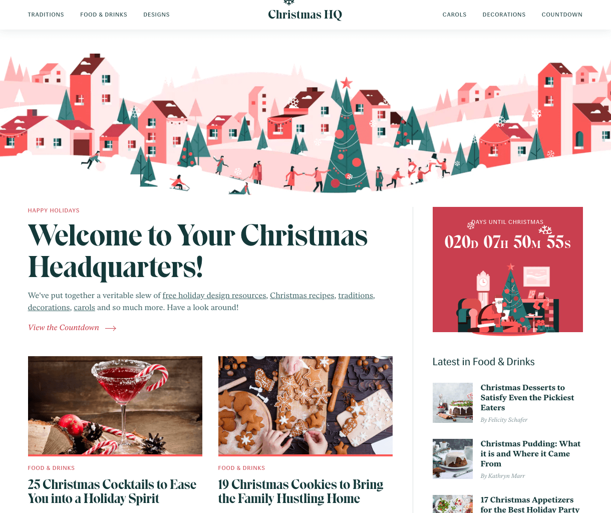 6 Festive Sites That Will Jingle Your Bells – Start Digital – Medium