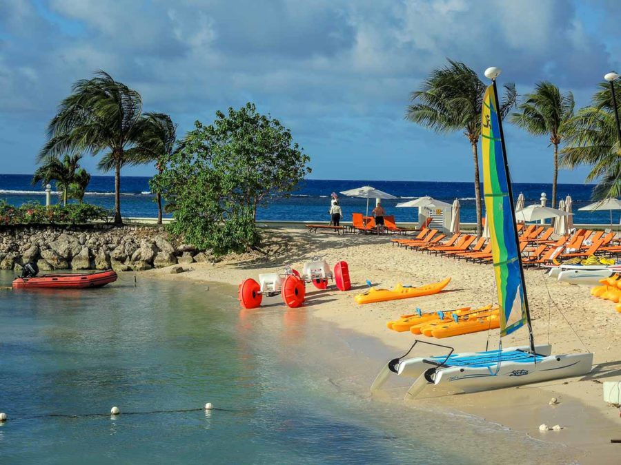 Water activities at Jamaica Grande
