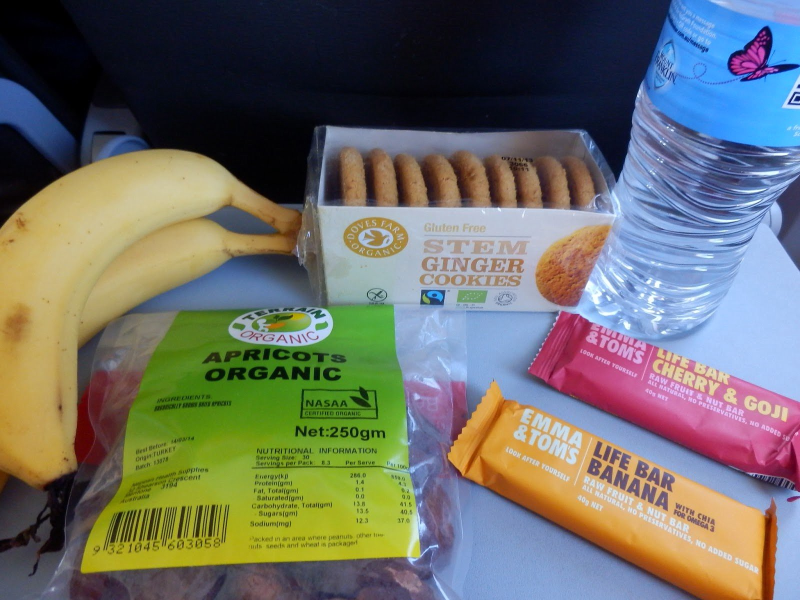 Long Haul Flight Tips: Traveling snacks