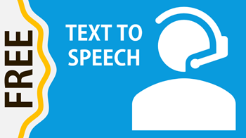 free text to speech narration