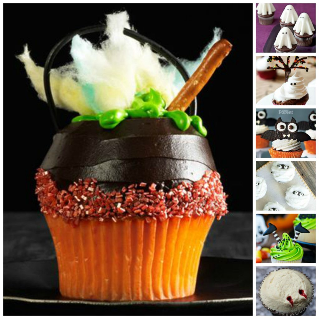Collage - Cupcakes - Halloween