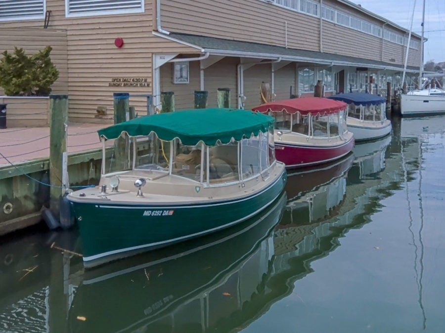 Three Annapolis Electric Boat Rentals