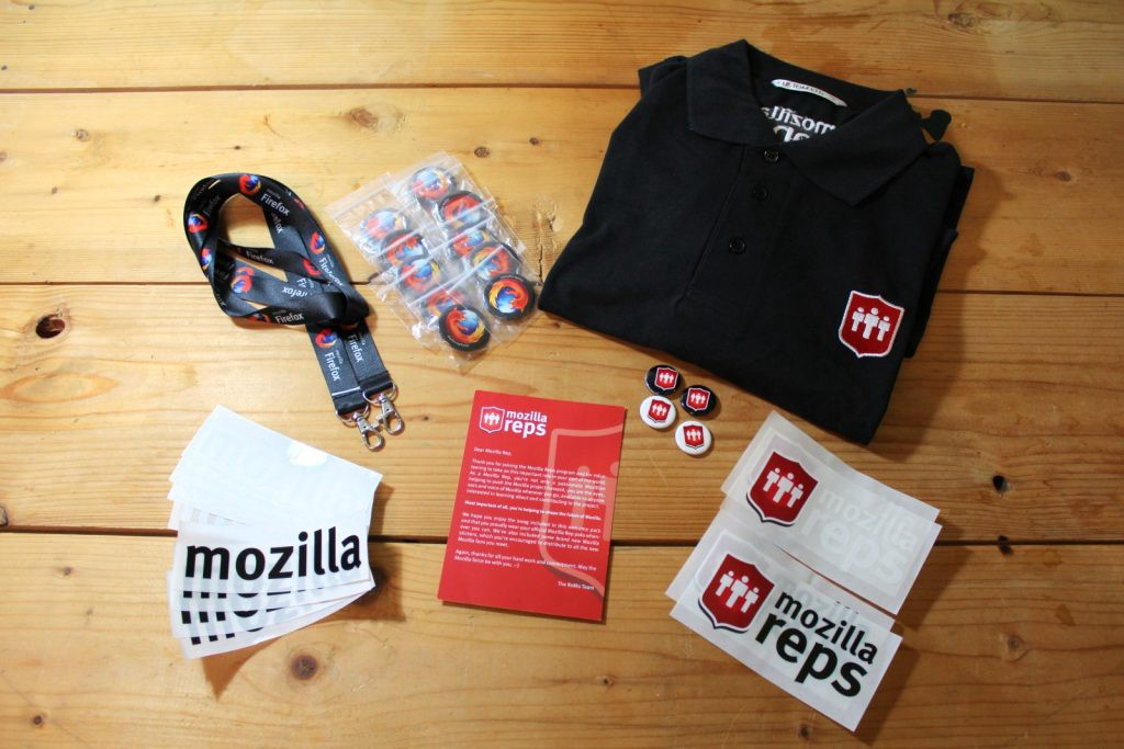 Mozilla Reps Welcome Pack