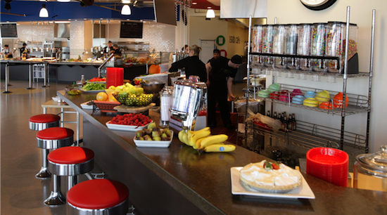 google office cafeteria. It\u0027s Well Known That Google Offers Its Employees Great Perks And We Would Add Their Cafeteria To The List. At Google, Is Referred As A \u201c Office
