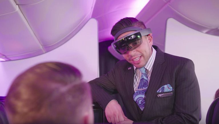 Air New Zealand imagines flight attendants using HoloLens to read your emotions