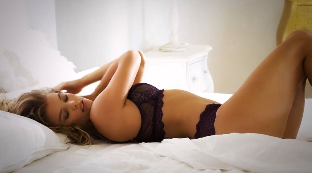 Here's your chance to get in bed with SI Swimsuit model @NinaAgdal. You're welcome.