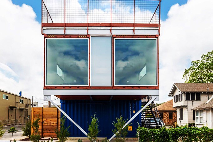 You Can Have A Shipping Container Home Experience In Fort Worth