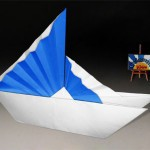 Origami Chinese Ship