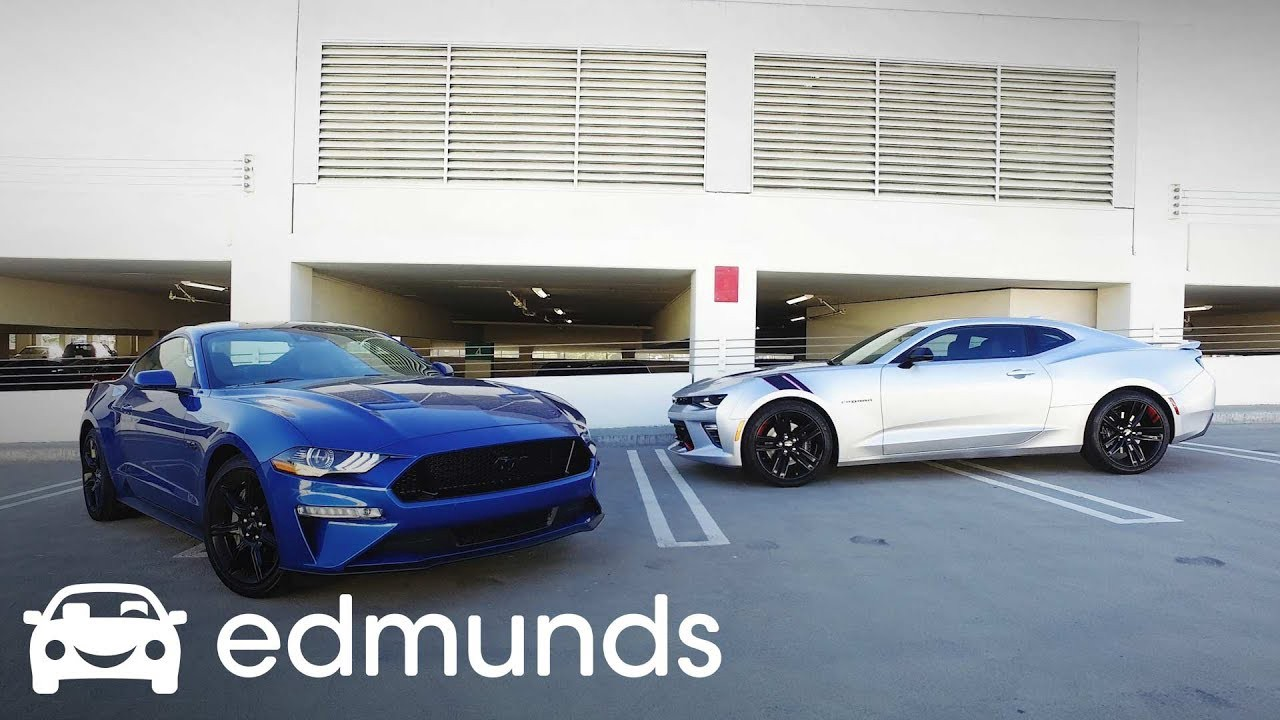 2018 chevrolet camaro ss vs 2018 ford mustang gt comparison test