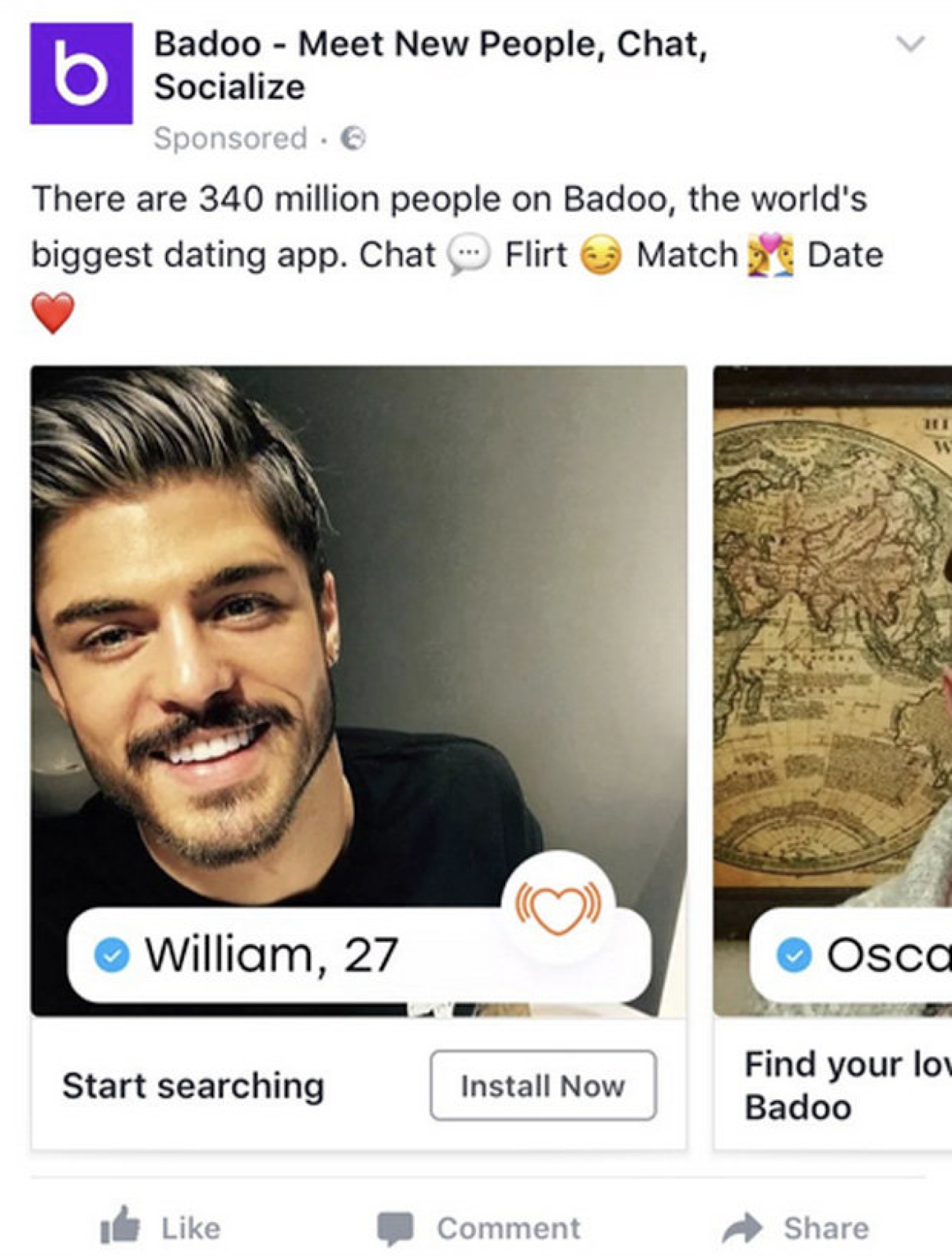 how do you search for people on badoo