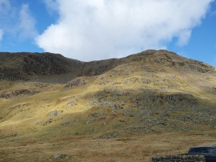 The hills above the pass