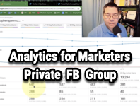 Analytics for Marketers Discussion Group