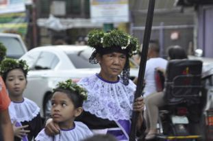 Holy Week procession, Philippines.