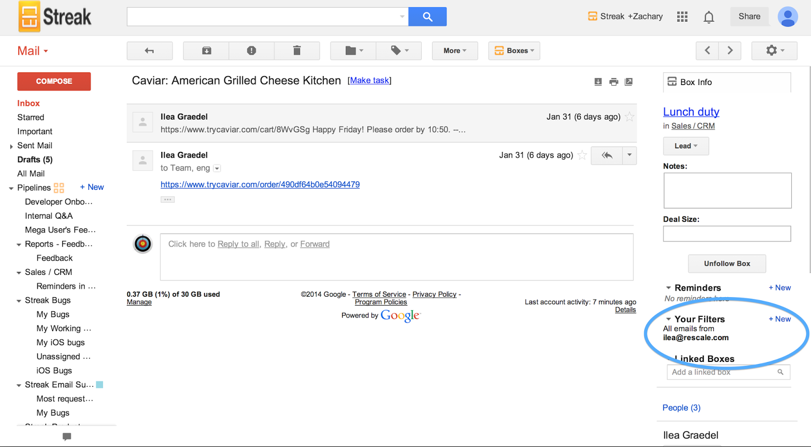 how to stop email automatically deleting from the gmail