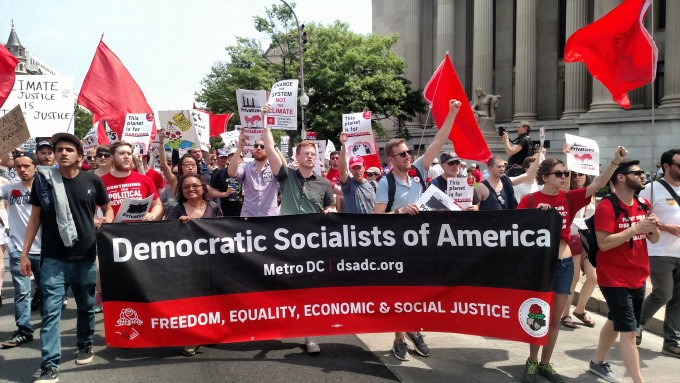 Image result for Democratic Socialists of America