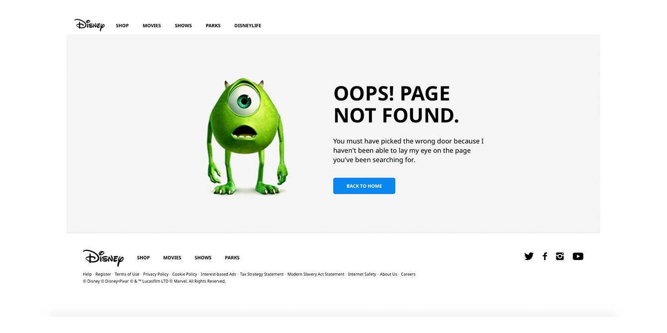 How to Create an Effective 404 Error Page \u2013 Muzli - Design Inspiration