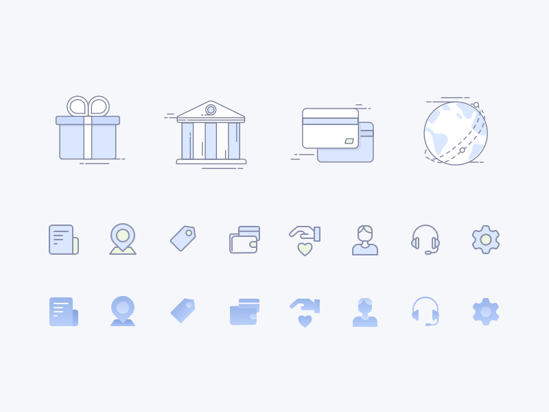 Unionpay App icon collection by CAOCAO