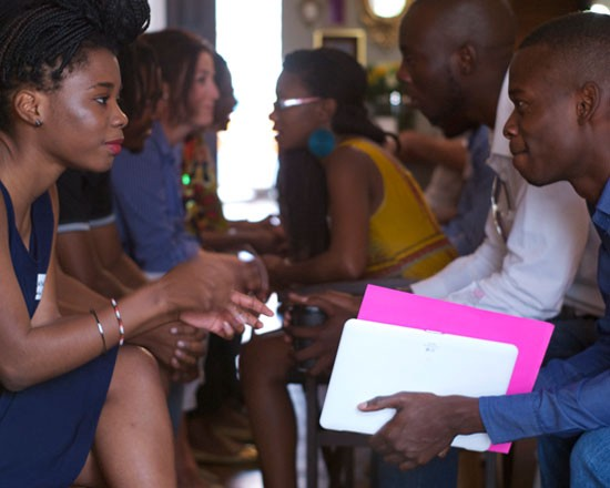 Lusaka Global Shapers get to know each other