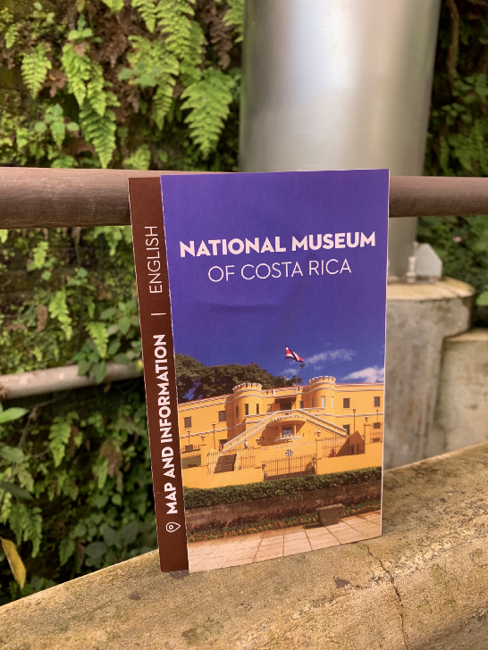 national museum of Costa Rica flyer