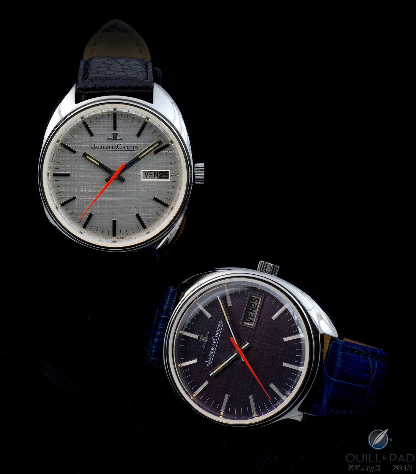 Two prototype Caliber 906 watches from Jaeger-LeCoultre