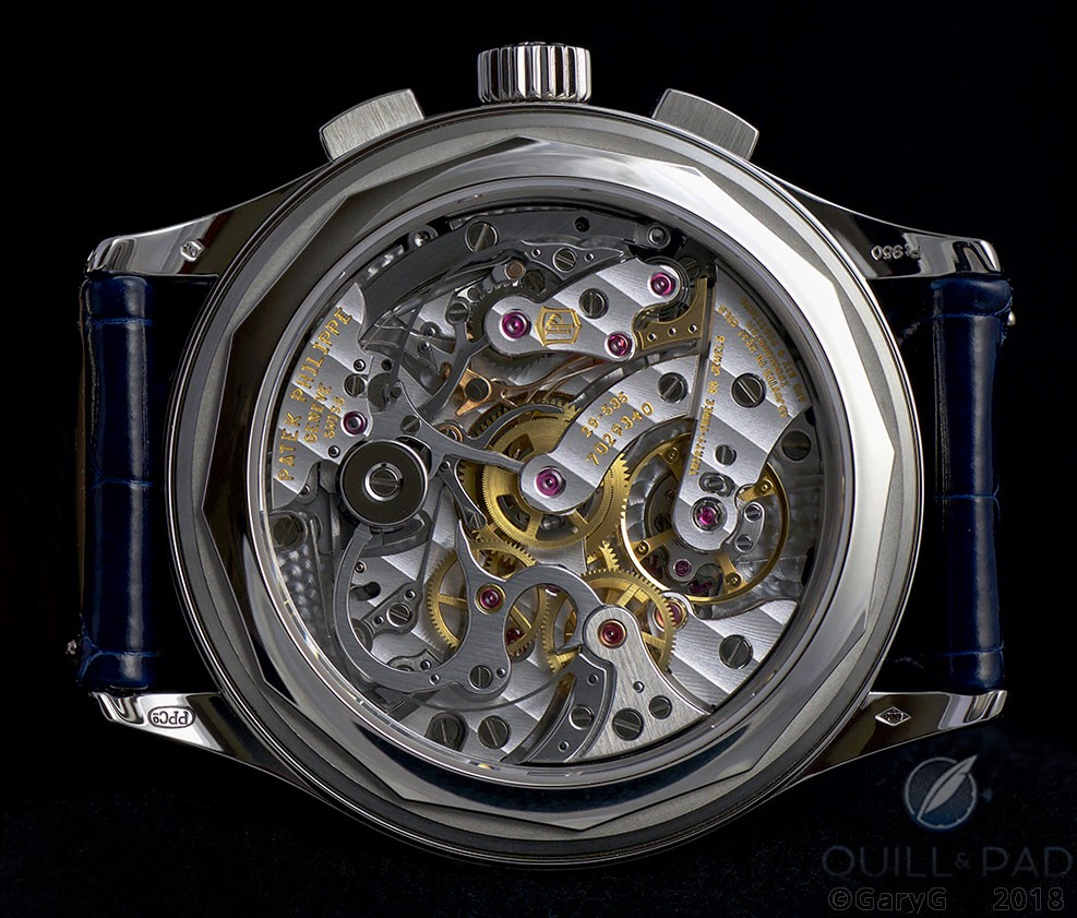 Movement side, Patek Philippe Reference 5170P