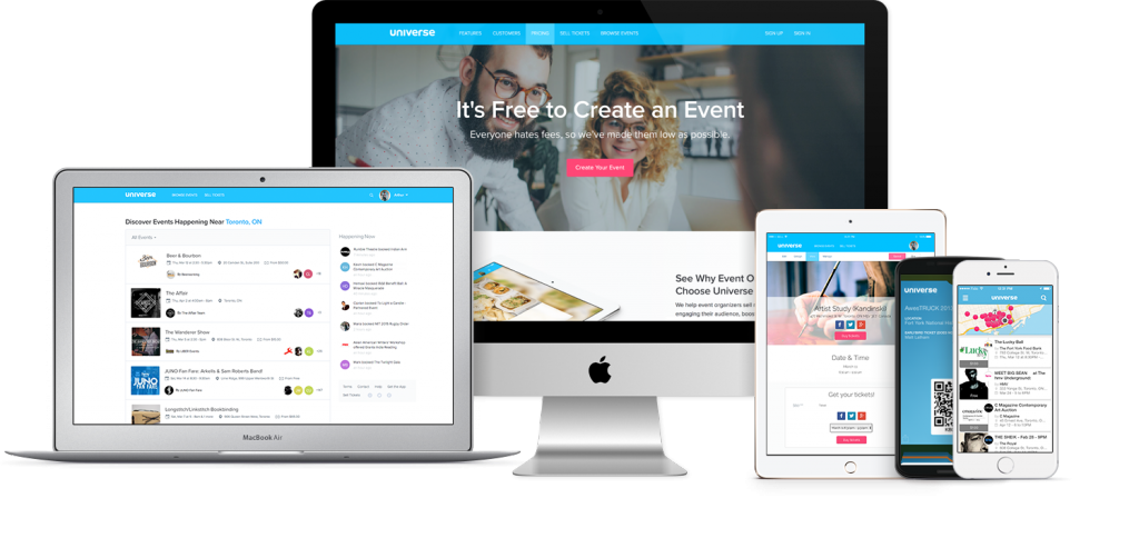 how to create event tickets