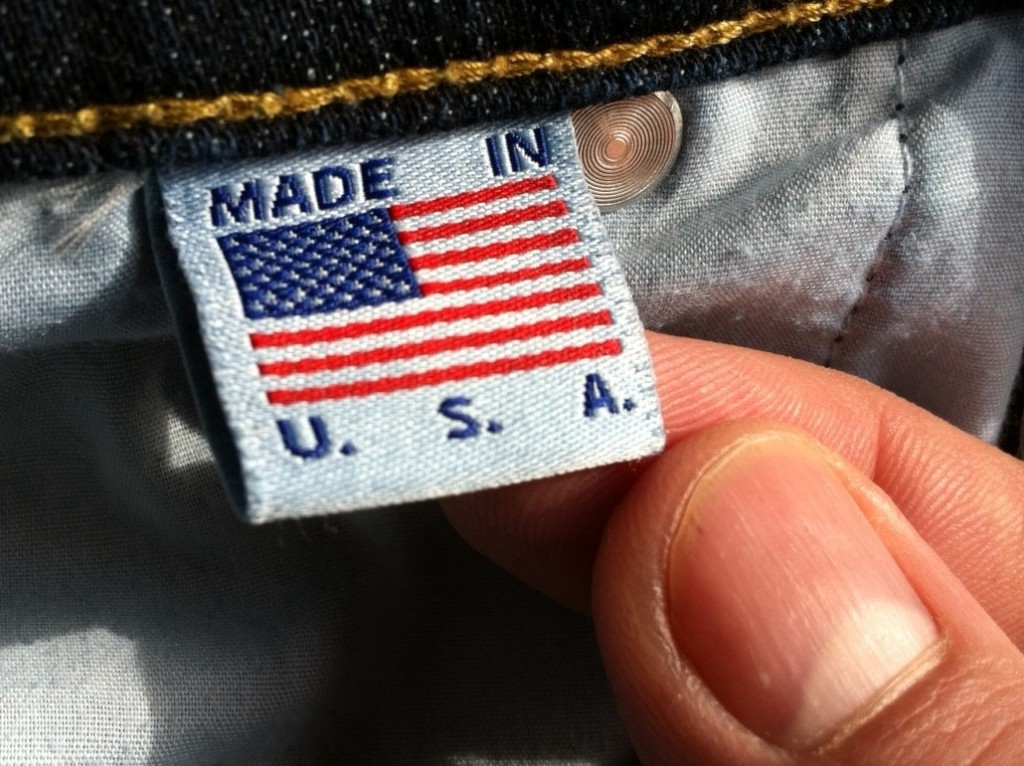 A label stating the product was 'Made in the USA'.