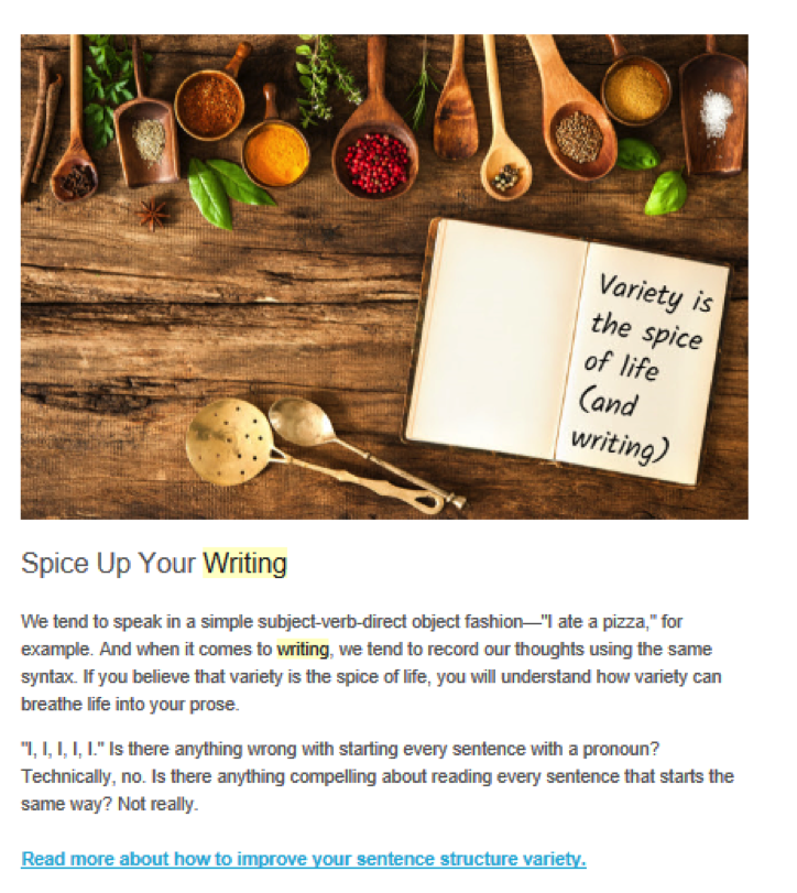 Prowriting Aid Email Marketing