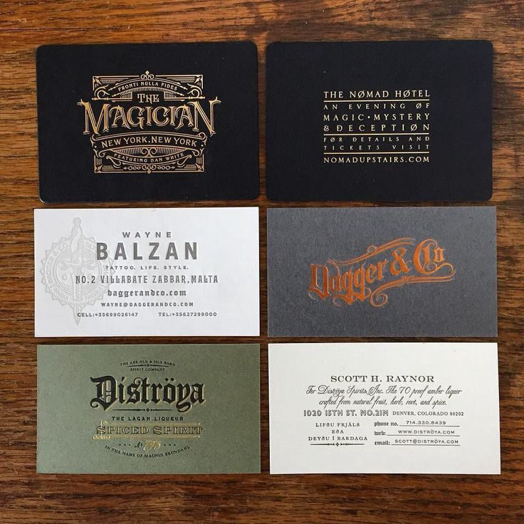 30 beautiful business card designs from up north business cards by chad michael studio reheart Gallery