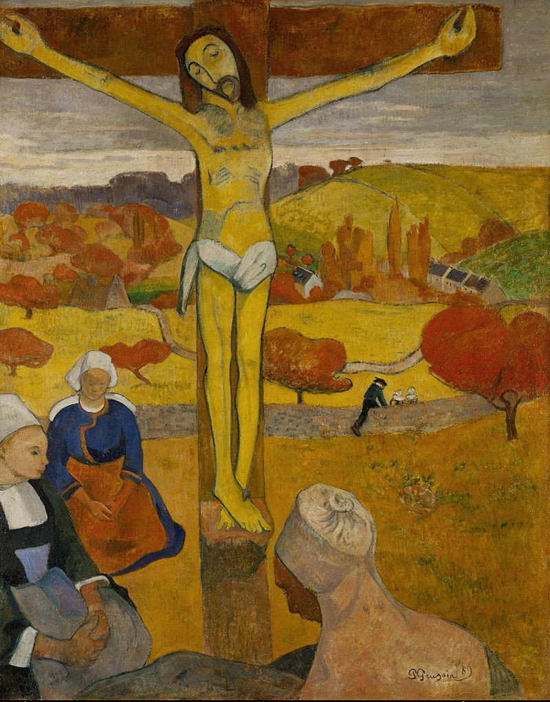 More details The Yellow Christ (Le Christ jaune), 1889, Albright-Knox Art Gallery, Buffalo, NY.