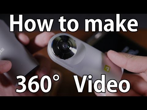 How to make 360 degree video