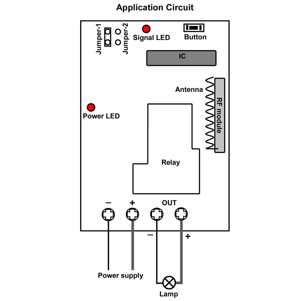 High Power Dc Remote Control Switch For 4 Flood Lights On 0 12v Supply Circuit Diagram Wiring Each Light Should Be Connected To Corresponding Receiver And Place Appropriate Position Is Supplied