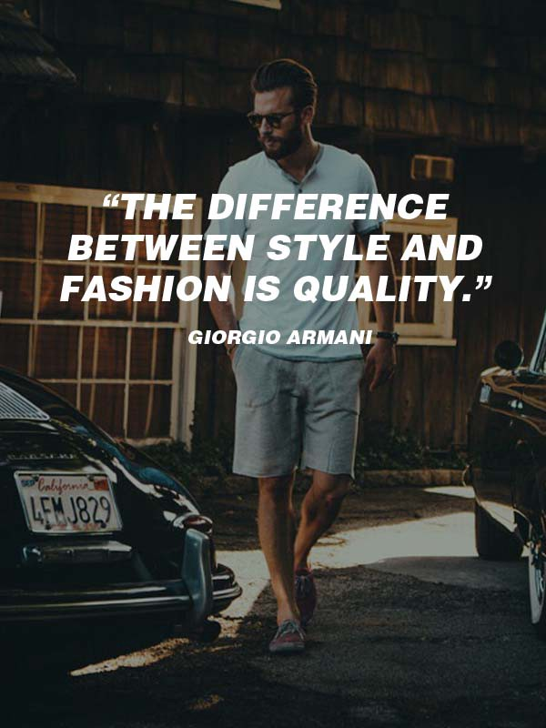 20 Best Mens Fashion Quotes To Step Up Your Instagram